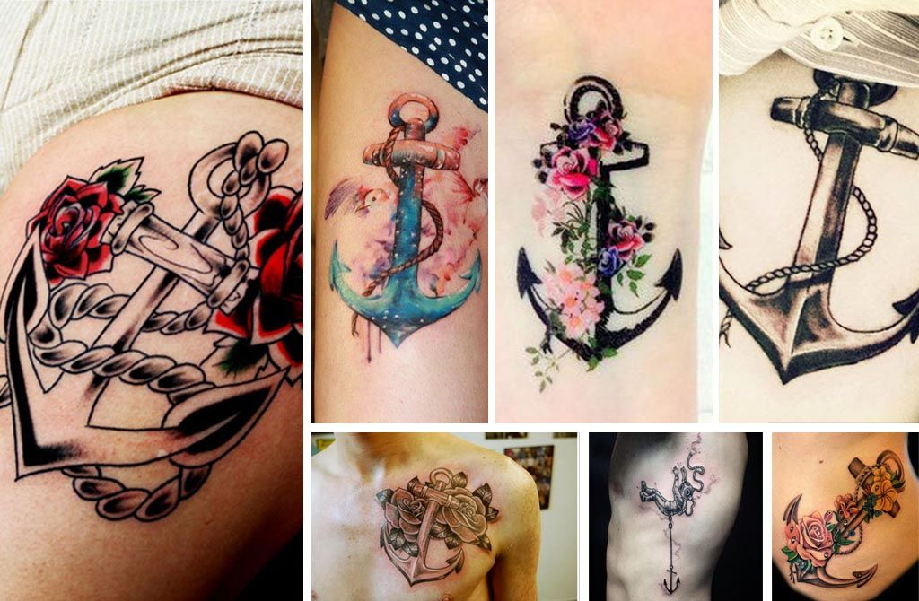20 Anchor Tattoos Showing Faith, Loyalty and Solidarity
