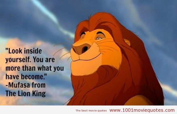 06b649595232a75d080de84562ce58db look inside yourself, simba you are more than what you have