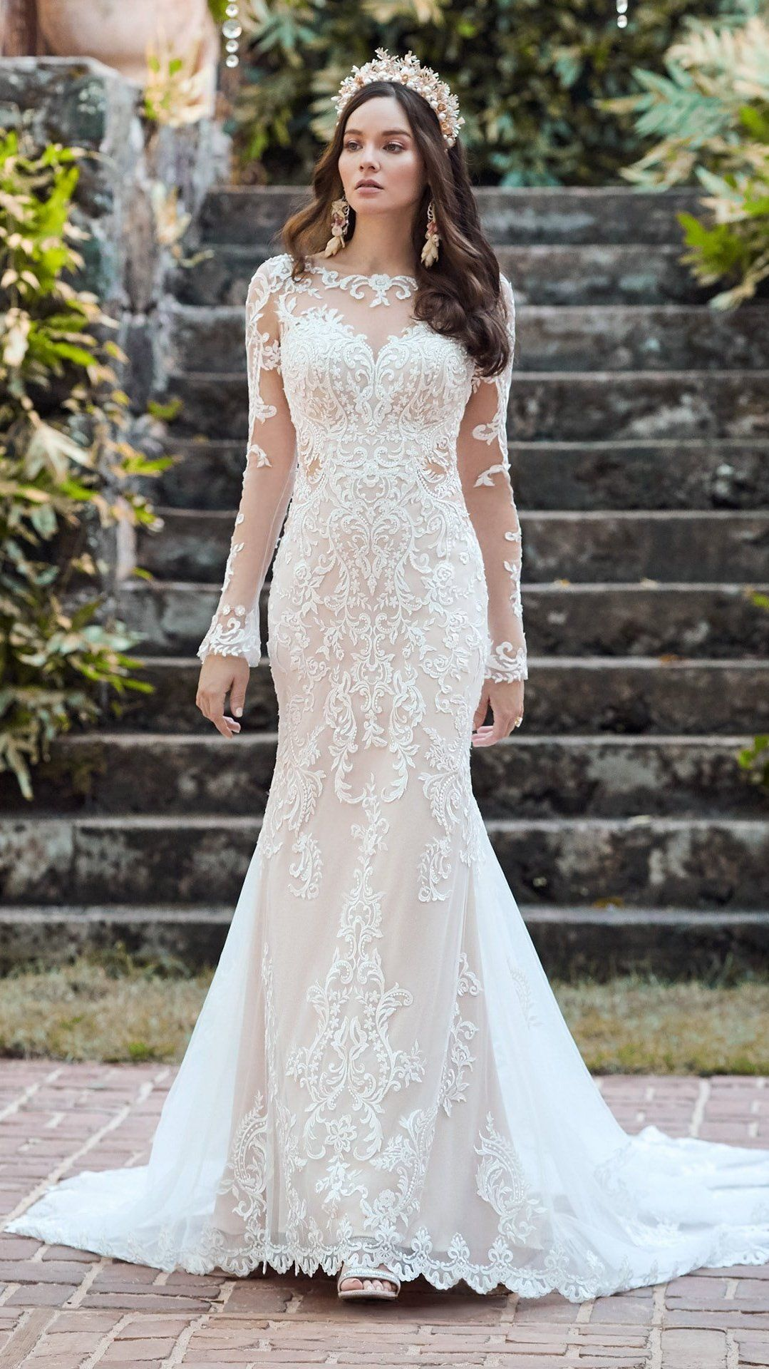 Lydia By Maggie Sottero Wedding Dresses And Accessories Wedding Dress Long Sleeve Wedding Dresses Wedding Dress Sleeves [ 1920 x 1079 Pixel ]