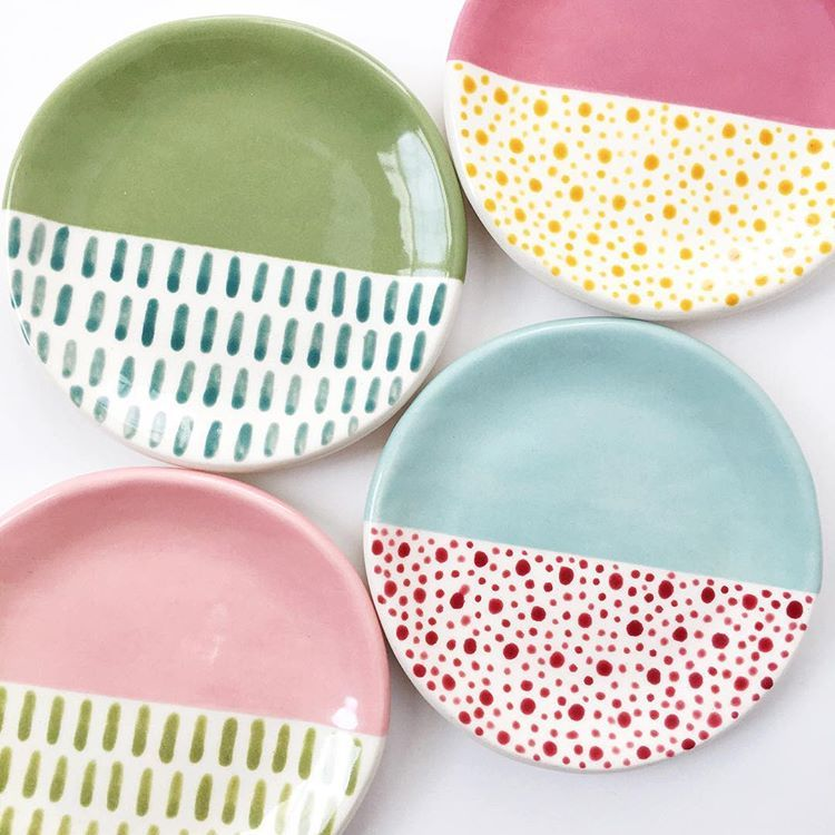 Photo of Patterned Ring Dish