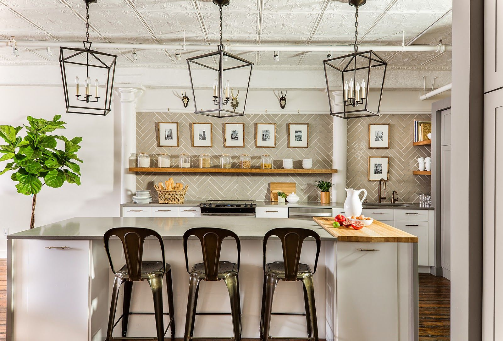 A Leather District Kitchen (With images) Kitchens