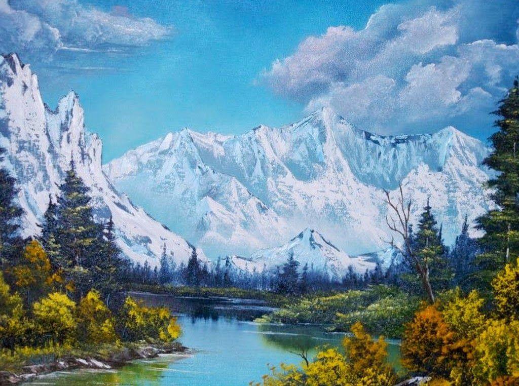 Fondo Escritorio Paisaje Montaña Nevada: Pin De SunCult Studio En Nyugtató-Természeti Képek
