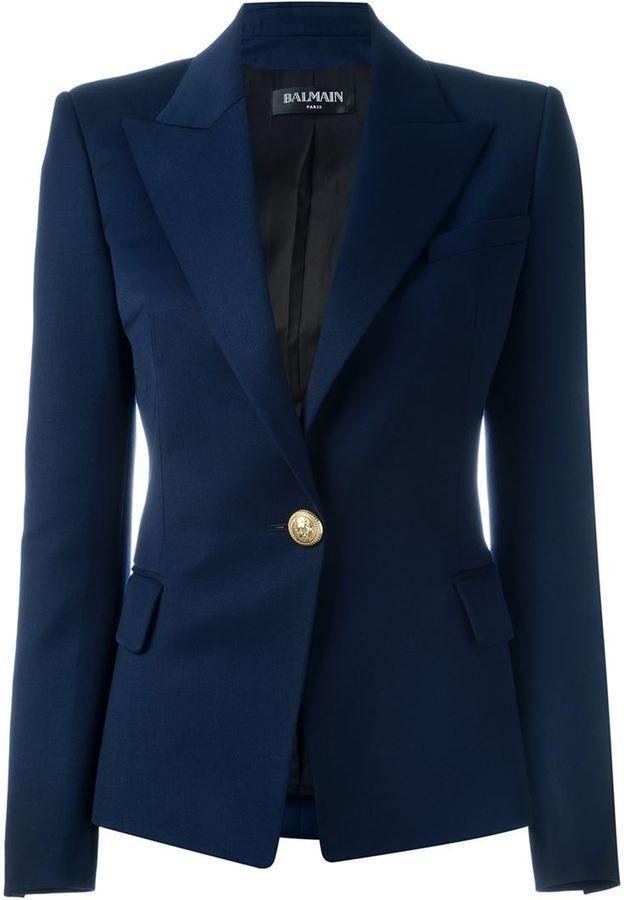 f27da2f77b Balmain fitted blazer