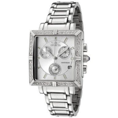 I love this watch! I wear it every day and get many compliments on it. I feel like a million bucks wearing this watch. Well worth the incredible price on an Invicta diamond watch.