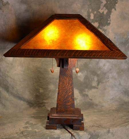 Mission Craftsman Art And Crafts Table Lamps Craftsman Table Lamps Craftsman Lamps Table Lamp