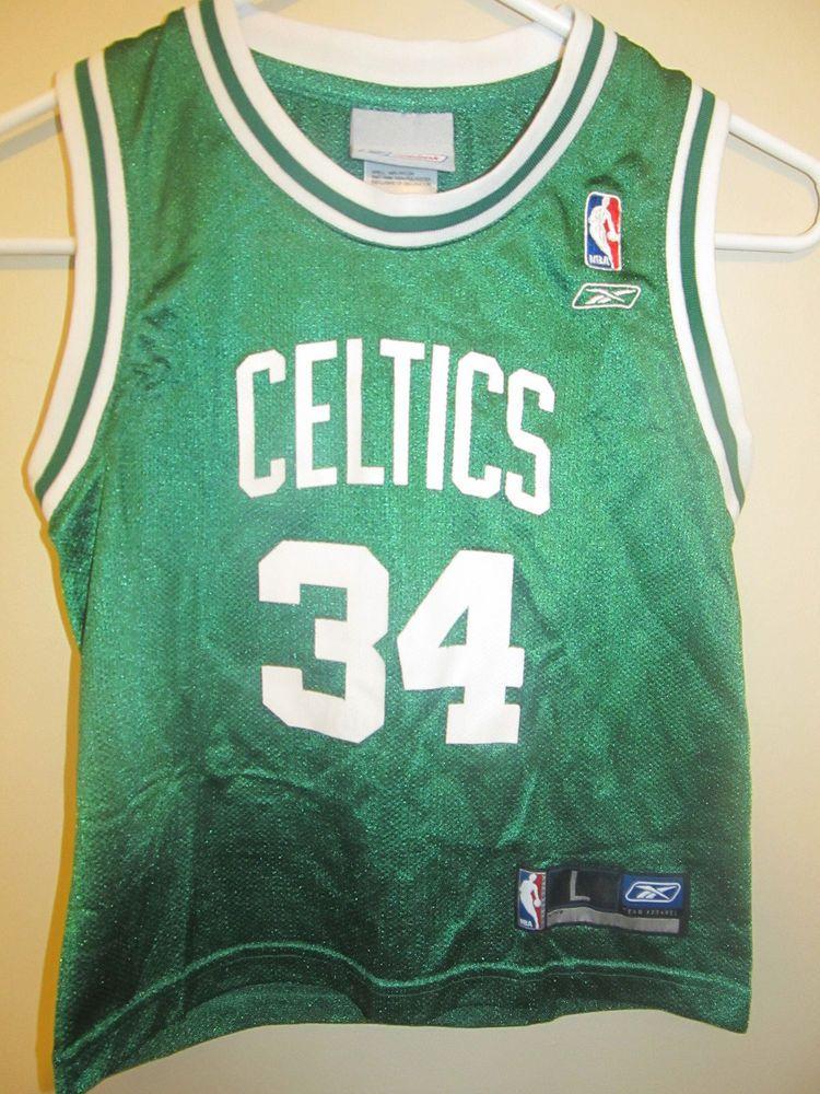hot sales 9c349 6401c Paul Pierce - Boston Celtics jersey - Reebok Toddler 7 ...