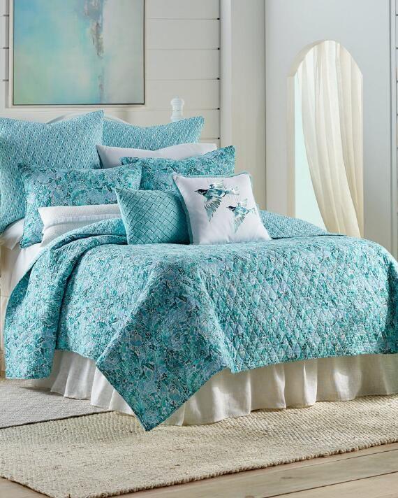 Nina Home By Campbell Watercolor, Nina Campbell Holiday Bedding