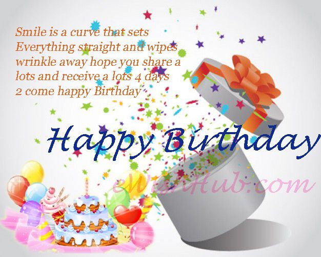 Happy Birthday Wishes Ecard Happy Day Quotes – Happy Birthdays Cards