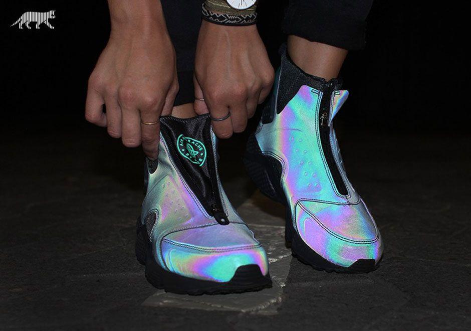The Nike Air Huarache Run Mid is
