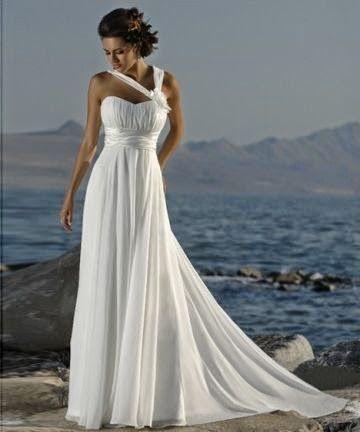 queusar: vestido de novia con tirantes cruzados y sin manga