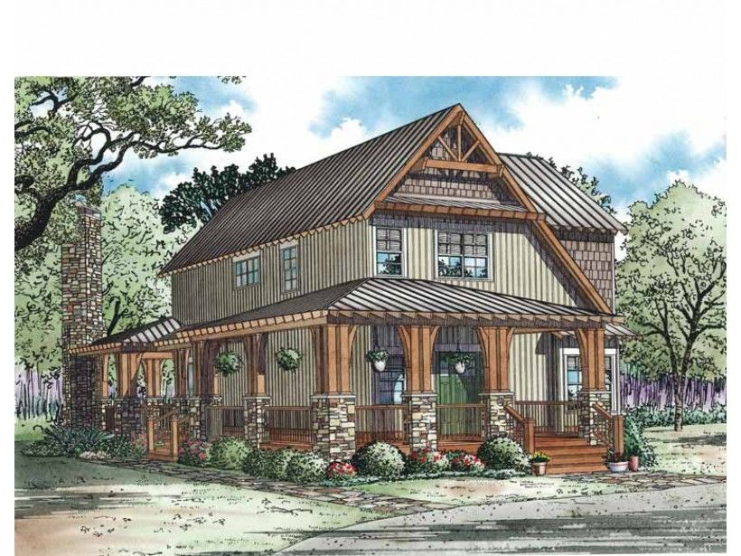 Craftsman Style House Plan 3 Beds 2 Baths 1705 Sq Ft Plan 17 3336 Country Style House Plans Craftsman Style House Plans Craftsman House