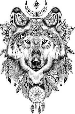 06b6aa49004e928f697332cee02ebe4b Jpg 290 442 Animal Tattoos Wolf Totem Tattoos