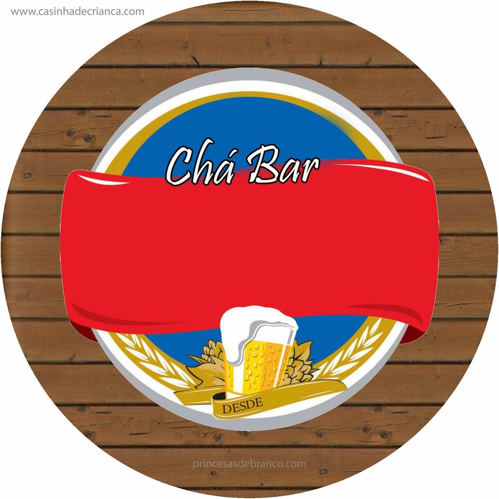 Kit Festa Cha Bar Para Imprimir Gratis Em 2020 Cha Bar Boteco