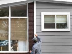 Tips and Tricks for Painting a Home's Exterior | Painting Ideas, How to Paint a Room or Furniture, Colors, Techniques | DIY