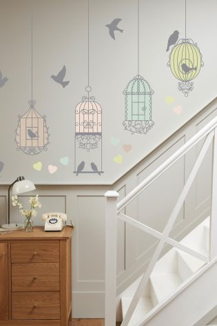 Buy Birdcage Wall Stickers From The Next UK Online Shop Part 57