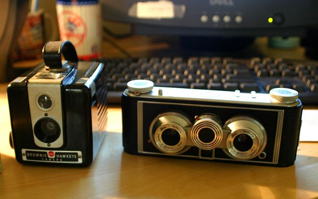 Old camera..... would LOOOOOOVE to have a few of these.