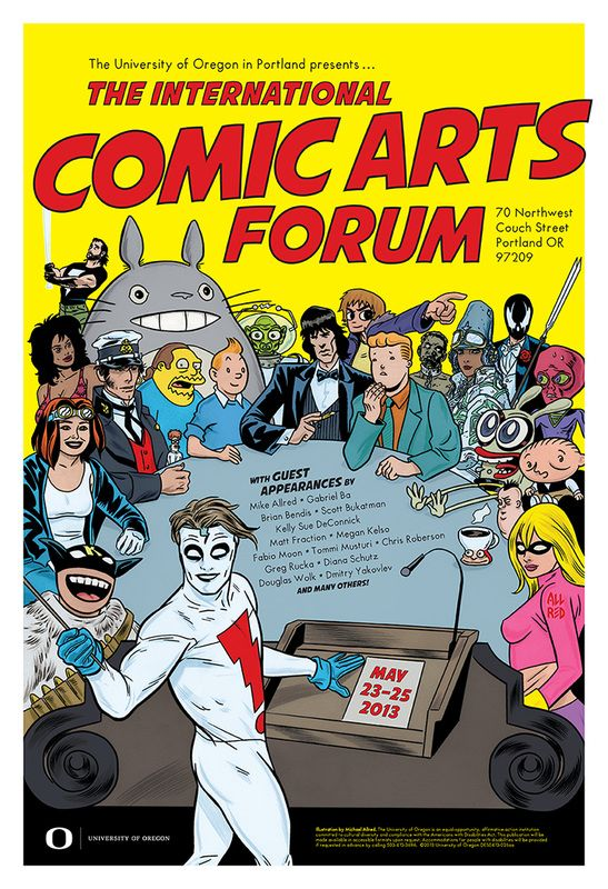 The International Comic Arts Forum
