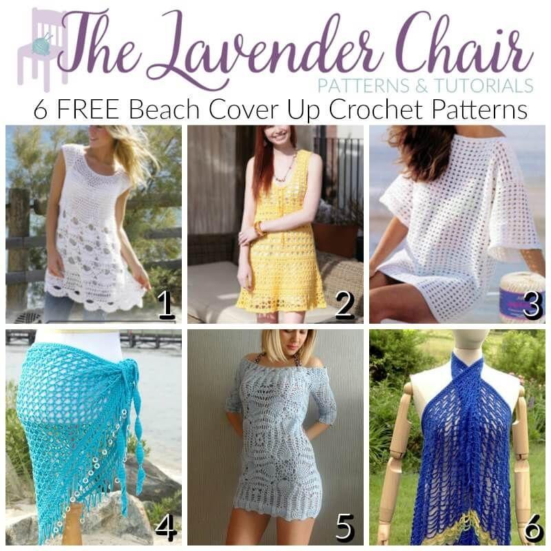 FREE Beach Cover Up Crochet Patterns | Blusas tejidas, Ponerse y Blusas