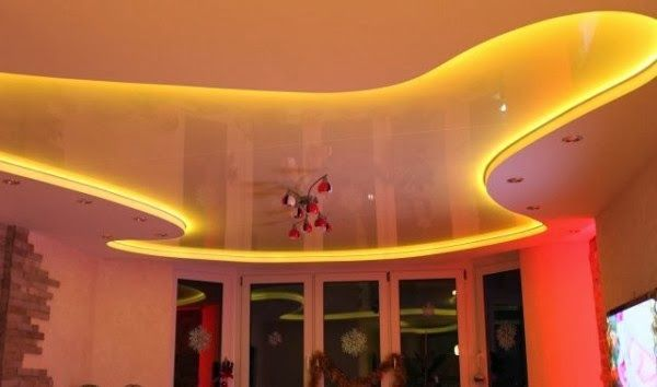 15 False Ceiling Designs With Ceiling Lighting For Small