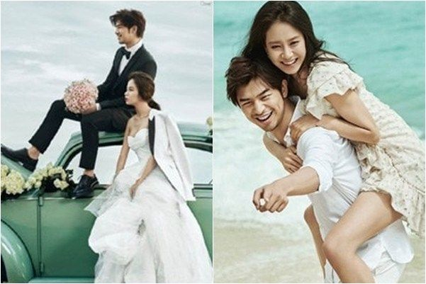 More photos from Song Ji Hyo and Chen Bolins romantic
