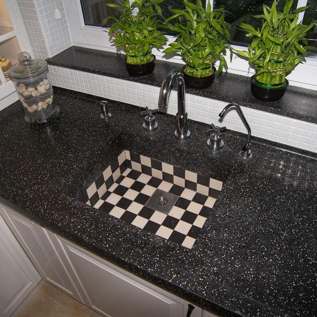 17 best ideeën over granieten werkbladen op pinterest   keuken ...