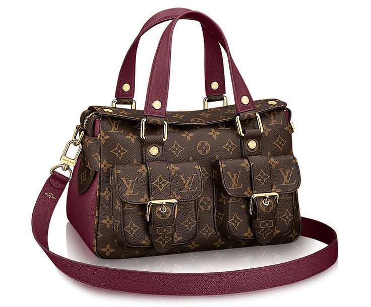 Louis Vuitton Has Relaunched The Manhattan Bag With A Whole New Look Up To 75 Off At Stylizio For Women En S Designer Handbags Luxury