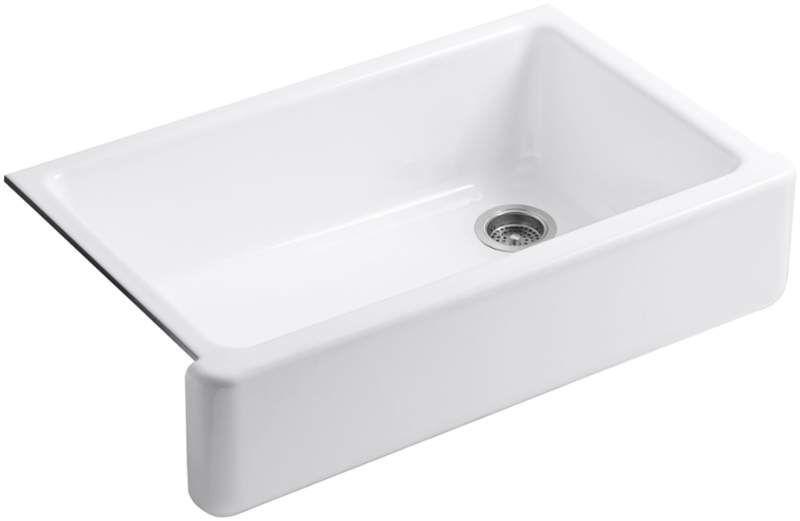 Kohler K 6489 Single Basin Sink Sink Cast Iron Kitchen Sinks