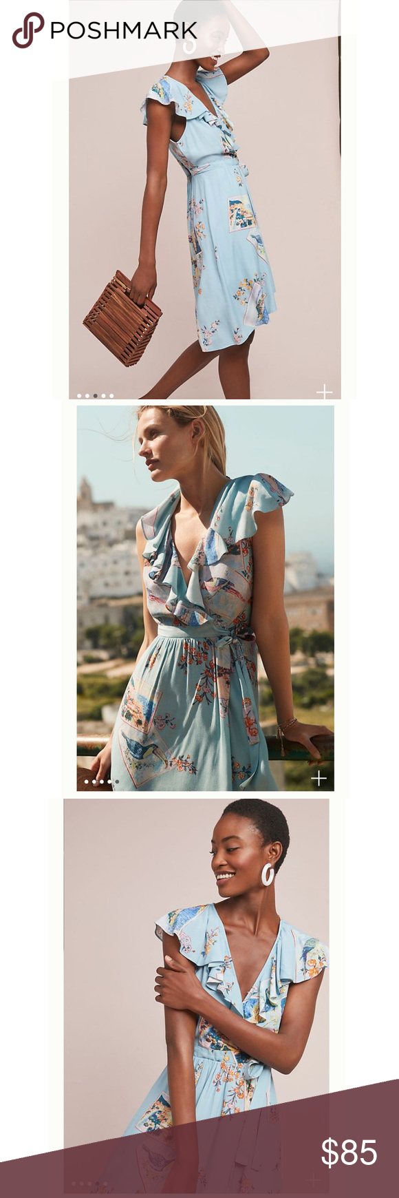 ca4a1edfae1 NWT Anthropologie maeve wrap dress New with tags Anthropologie Dresses Midi