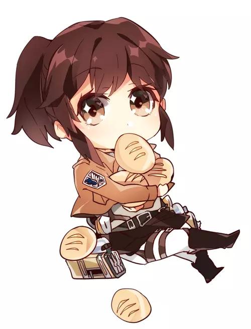 Fan Art Of Shingeki No Kyojin Ataque De Los Titanes Shingeky Personajes Chibi
