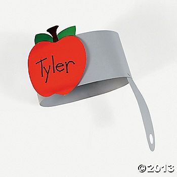 Johnny Appleseed Hat Craft Kit   Apples Thematic Unit ...
