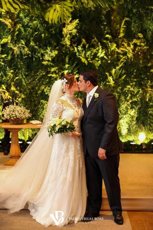 Nádia e Flávio, um casamento deslumbrante! - Blog Paulo Villas Boas