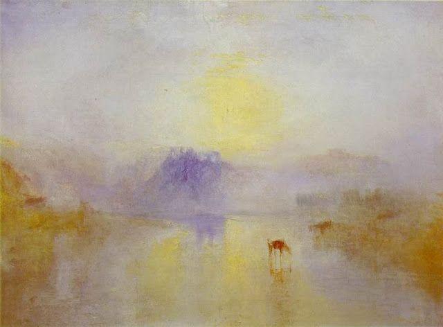 Norham Castle, amanecer. 1835-1840. Galería Clore