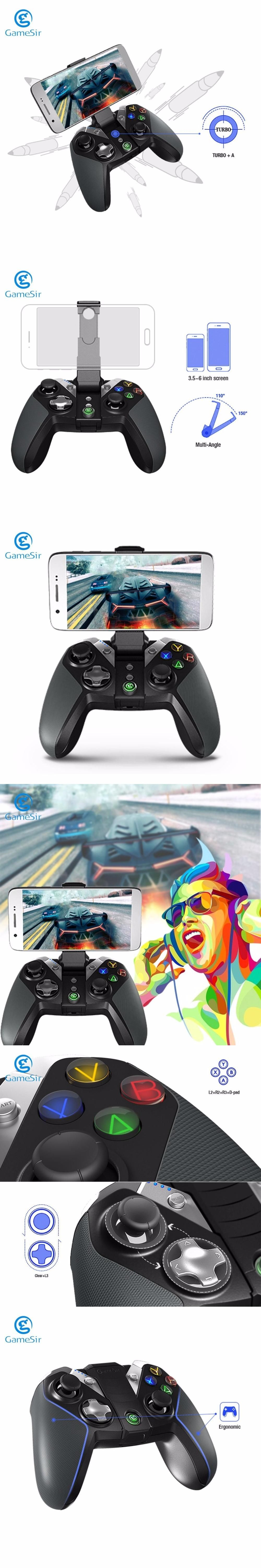 Gamesir G4 Wireless Bluetooth 40 Gamepad Controller For Ps3 Vr Box Smartphone Android Smart Tv Tablet