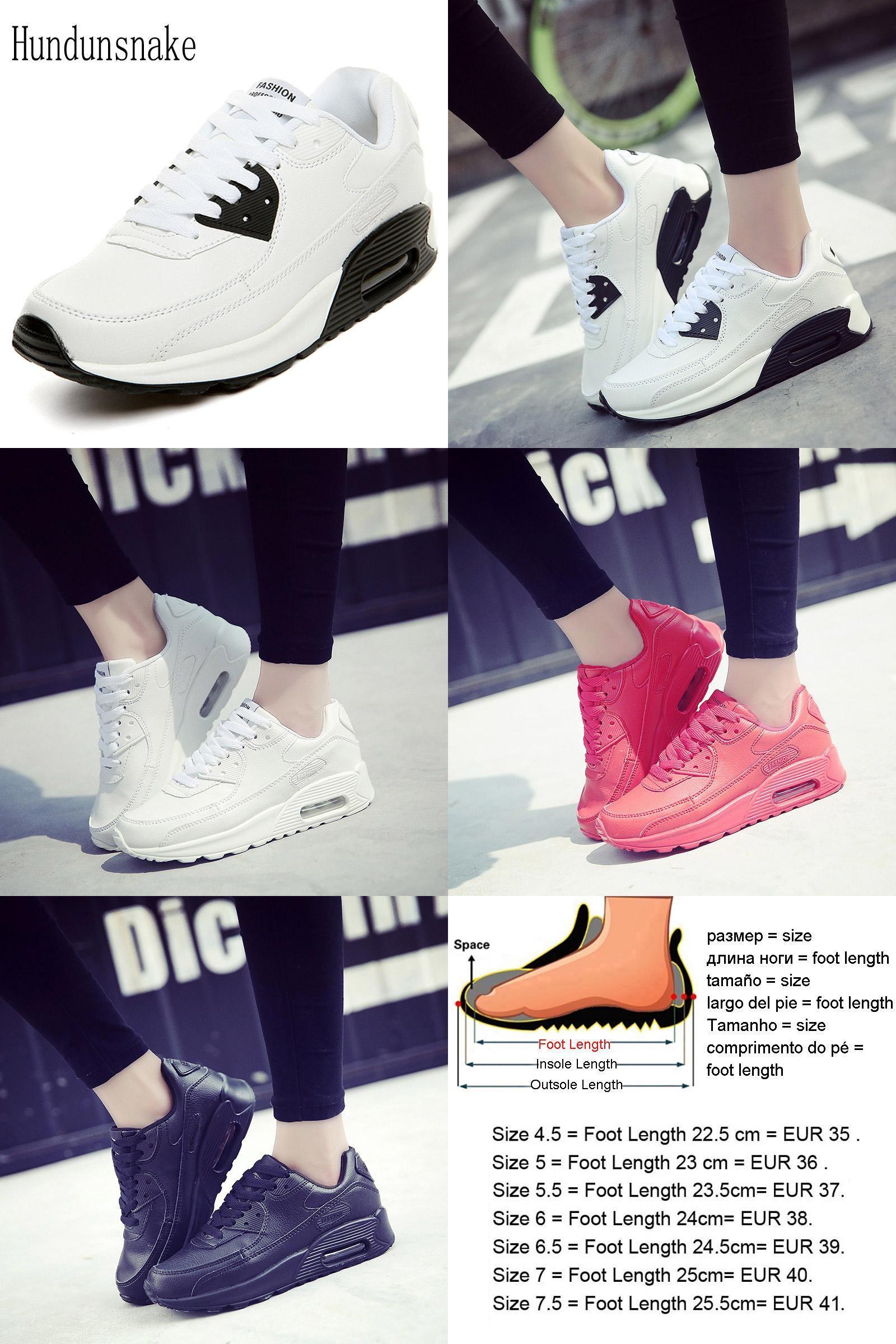 ffa54455e31 [Visit to Buy] Hundunsnake White Leather Women Sneakers Ladies Sport Shoes  Running Cheap Cushion