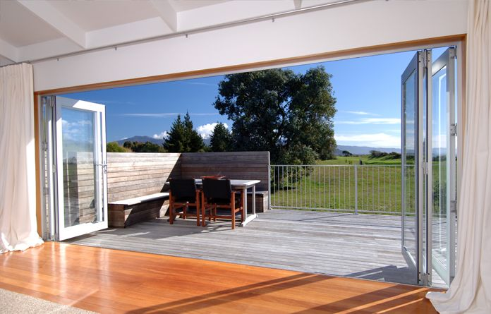 Bifold Doors It\u0027s little wonder that bifold doors have become one of the best sellers in the market as they allow for unrestricted access to the outdoors ... & Bifolds maximise indoor/outdoor flow. | Architecture | Pinterest ...
