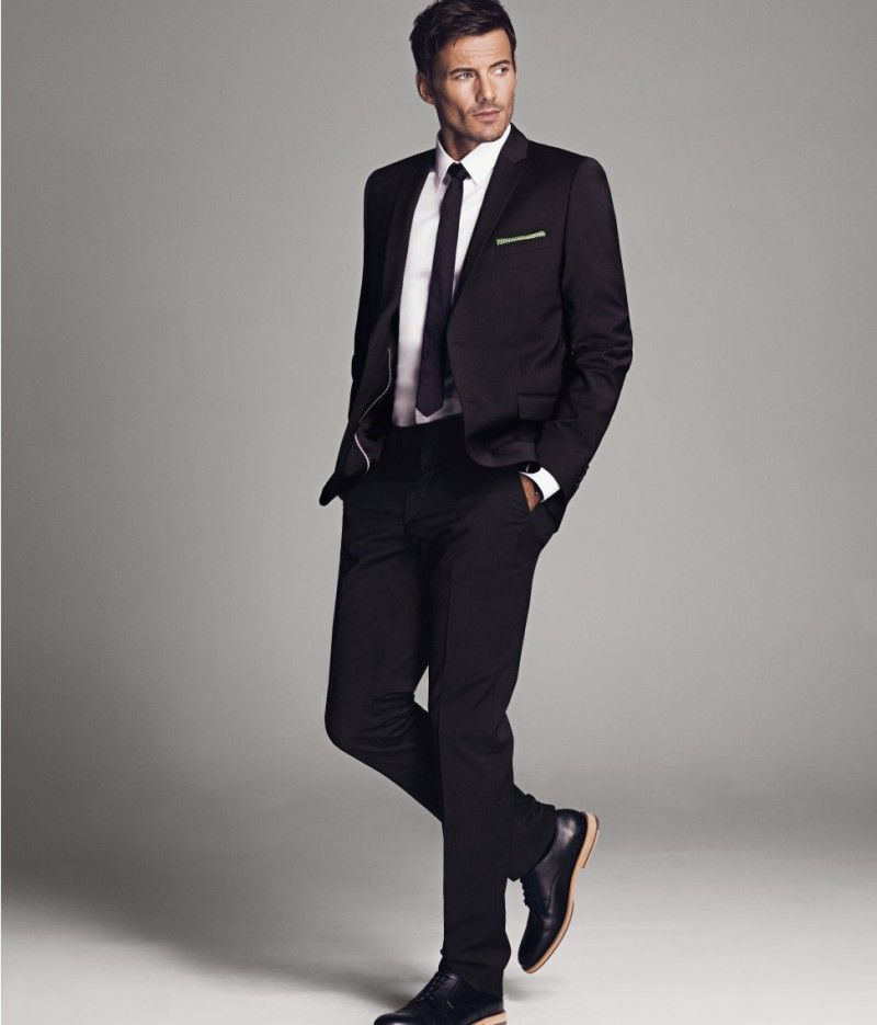Alex Lundqvist Suits Up for H&M's Spring 2013 Collection | Mens suits