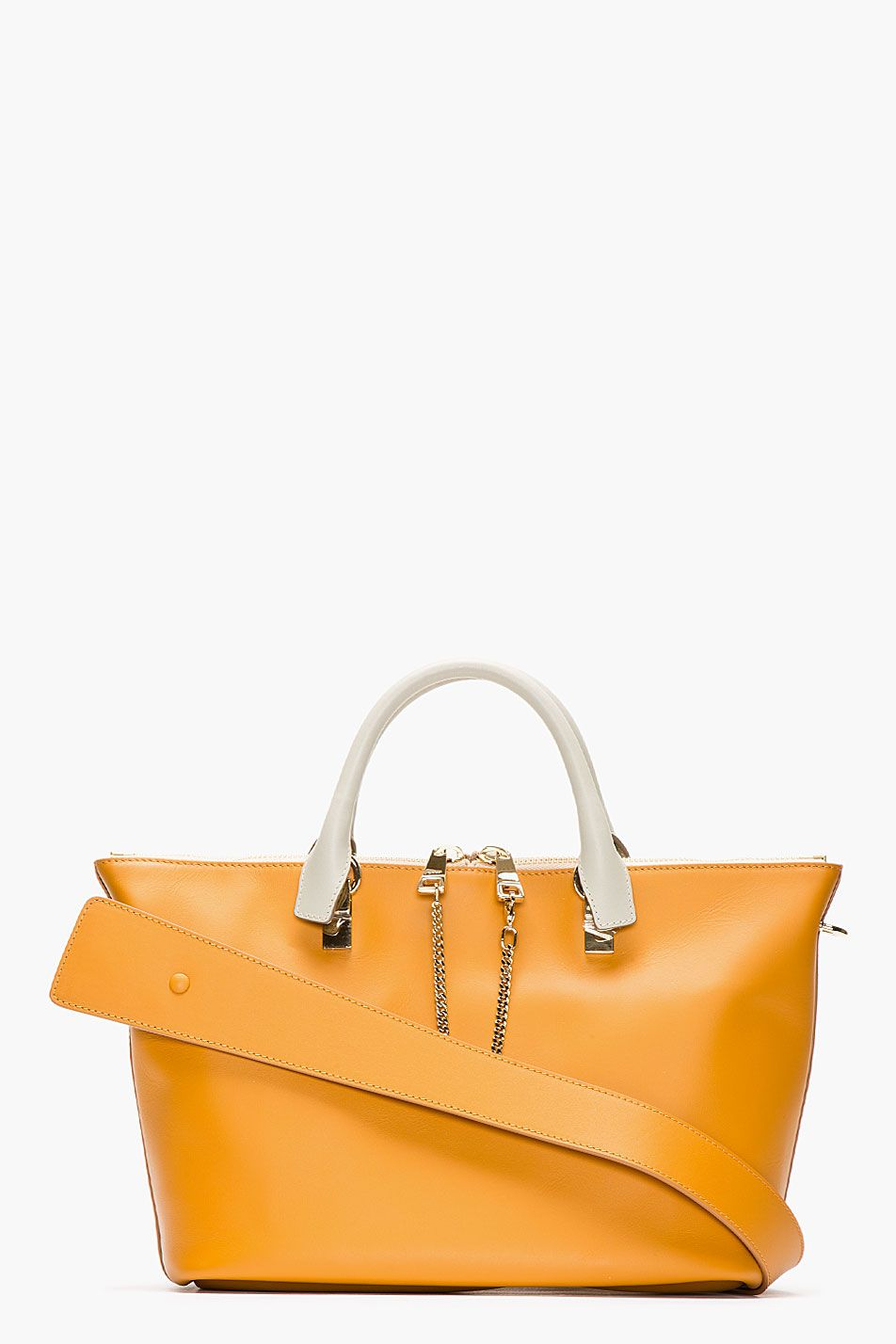 c2ad0bdd22bbb CHLOE Tan leather Baylee Small Tote   My Style   Bolsos, Carteras