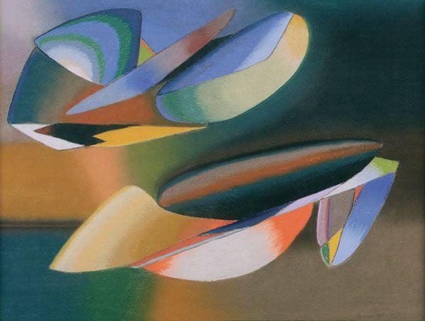 John Ferren - Abstraction - 1938
