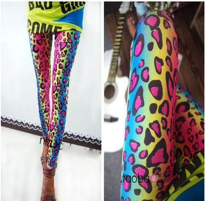 Leopard Multicolor Leggings