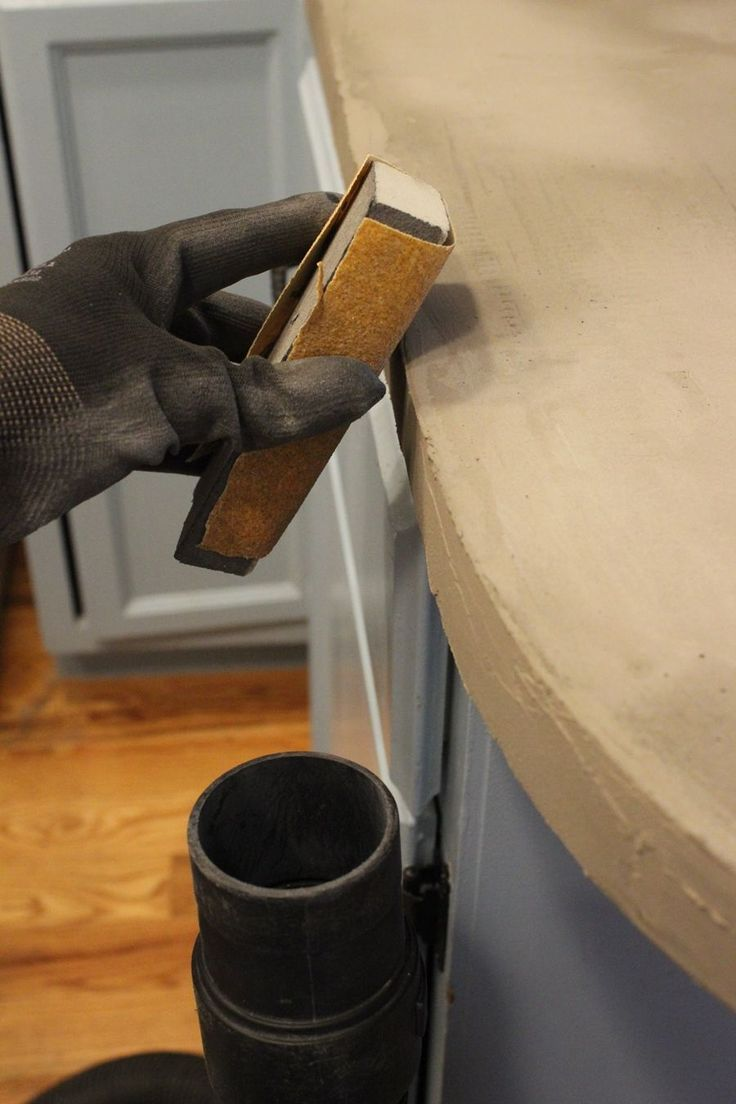 Beton Küchenplatte Selber Bauen Diy Concrete Kitchen Countertops: A Step-by-step Tutorial