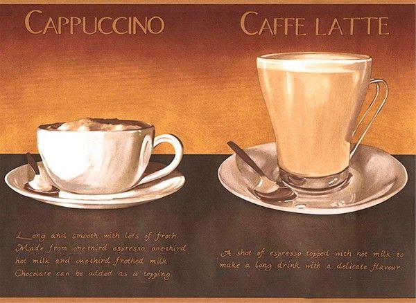 Coffee Wallpaper Border Aw0709b Cafe Coffee Decor Espresso Cappuccino