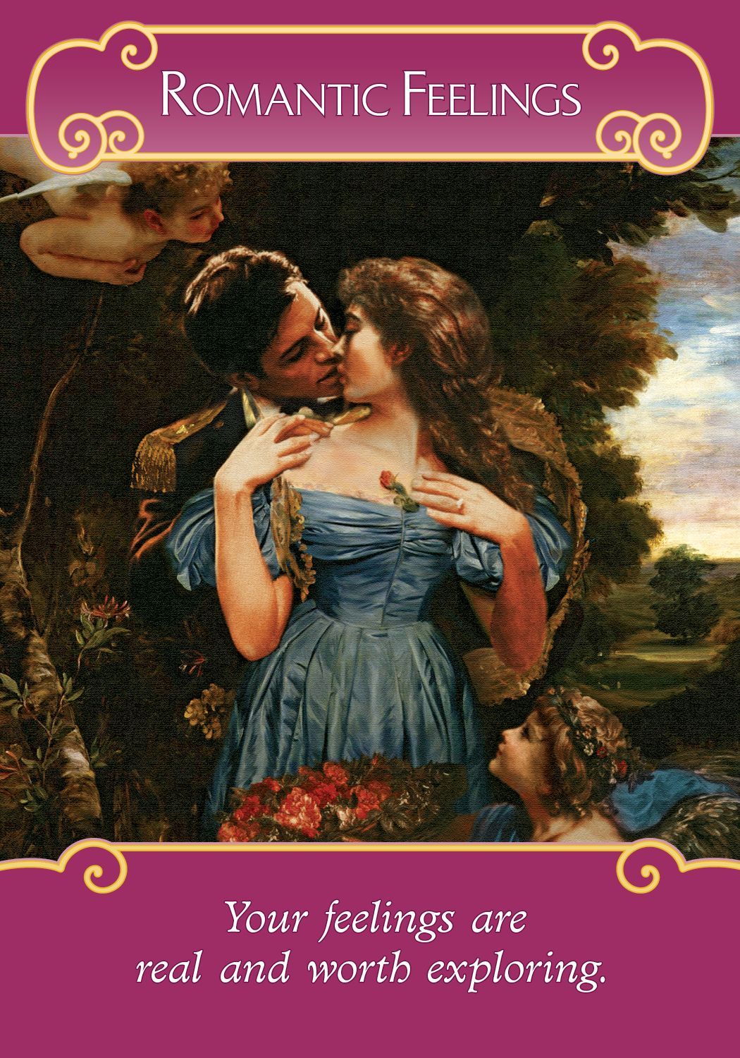 Oracle Card Romantic Feelings