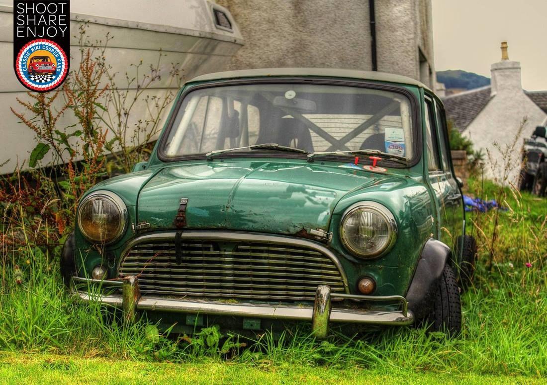 Found Resting In Scotland Hope Somebody Saves It Classic Mini Mini Cars Mini Cooper S