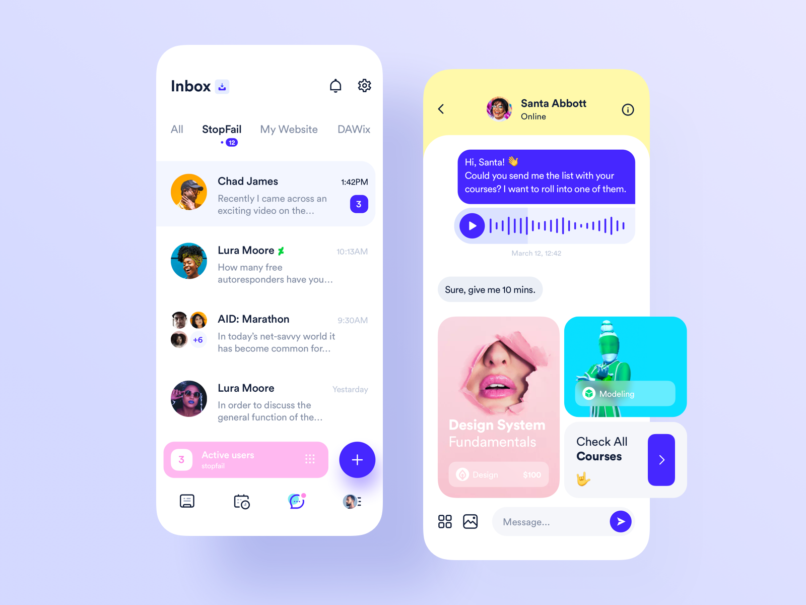 Chat Social App Social app, Social app design, App