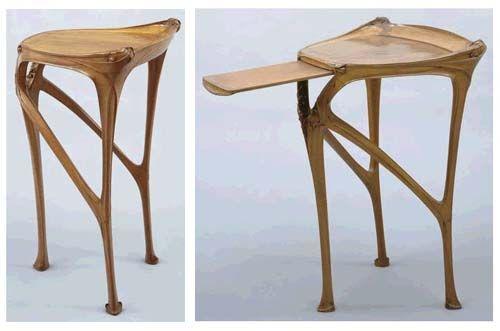 Mesa de apoio - c. 1904-07, Hectir Guimard