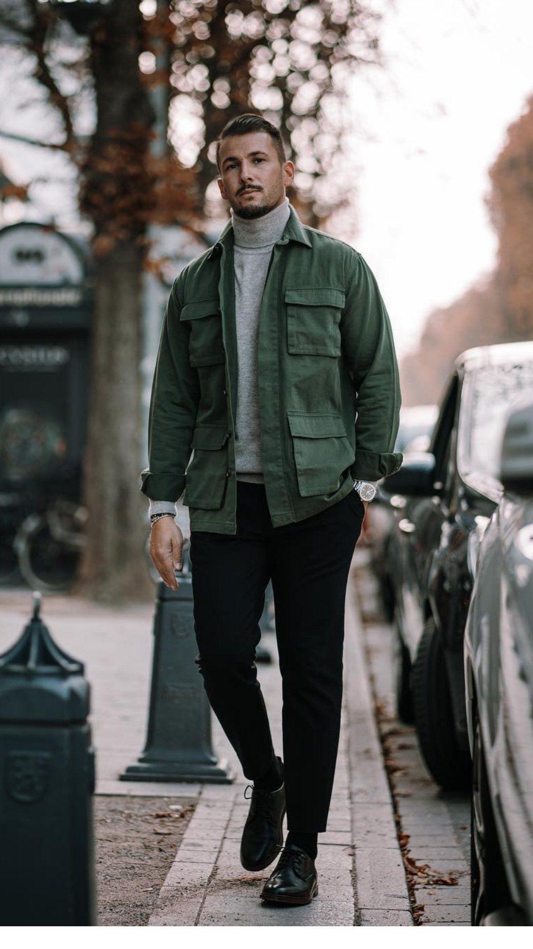 5 tenues d'automne super cool pour vous aider à améliorer votre style d'automne   – men