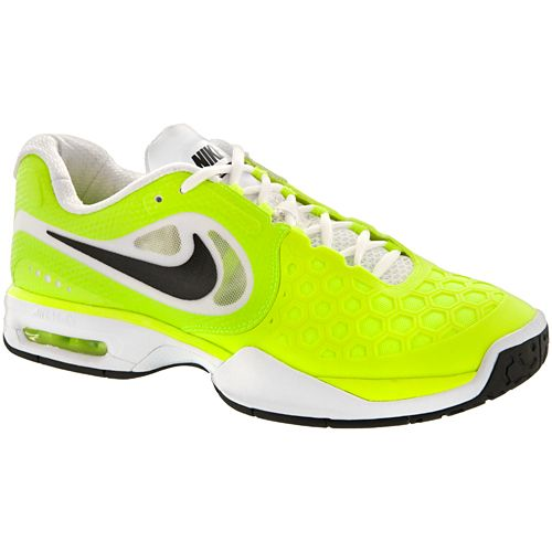 45b1dd220a9c ... nike air max courtballistec 4.3 nike mens tennis shoes volt black white  . ...
