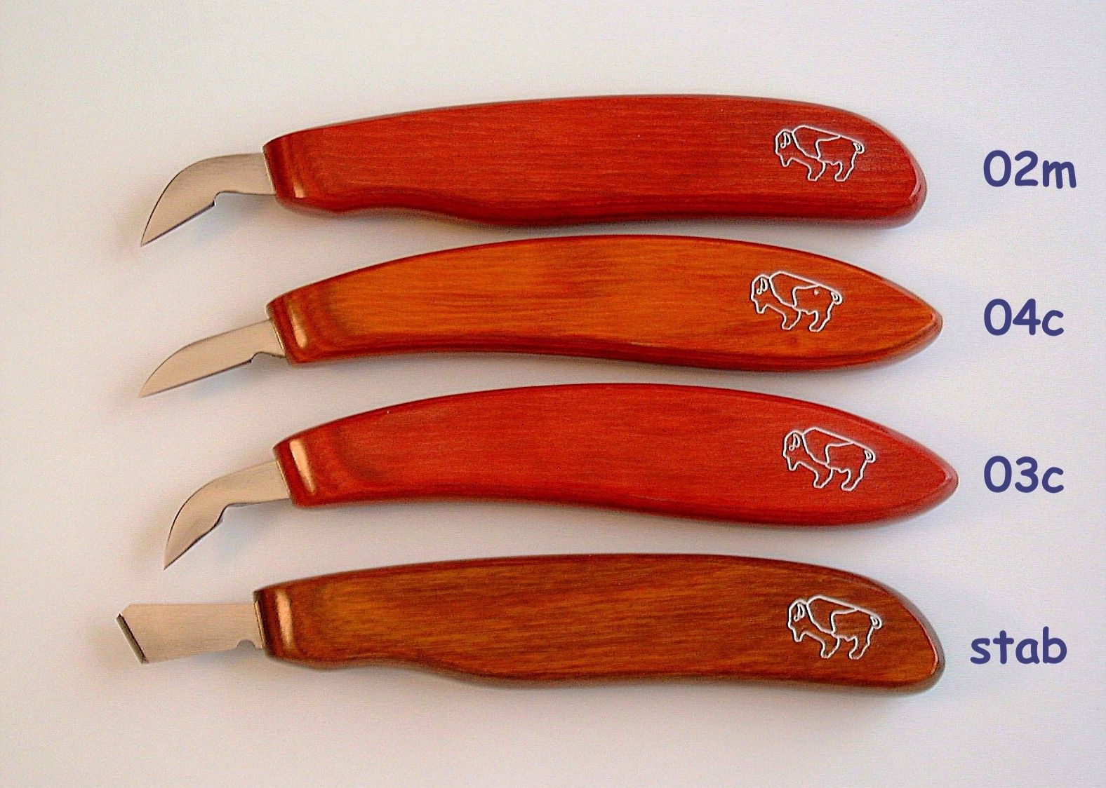 Chip carving knives custom made by. david j notto $33.00 each