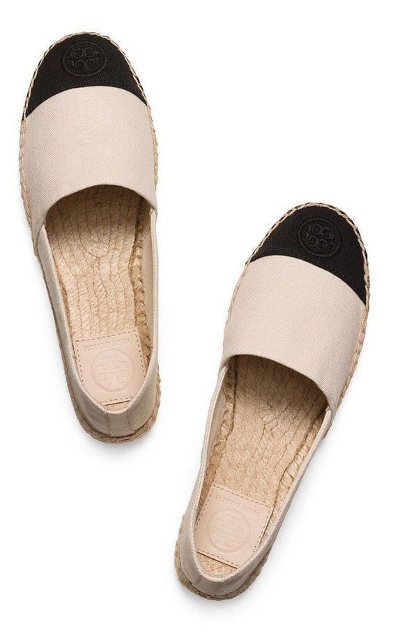 Footwear · tory burch color block espadrilles