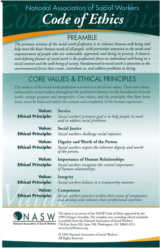 photo about Ana Code of Ethics Printable titled Envision MSW Things Code of ethics, Coding, Social function